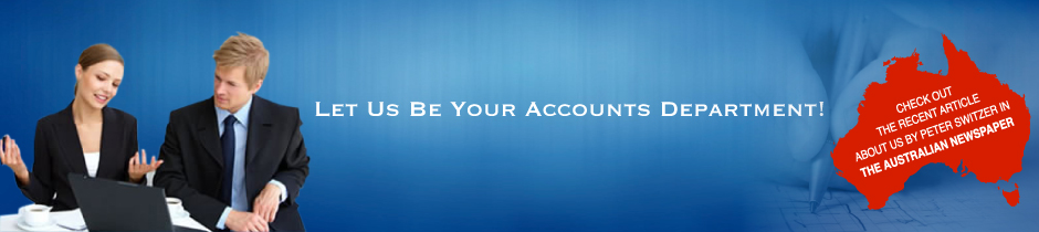 Let us be your accounts department.